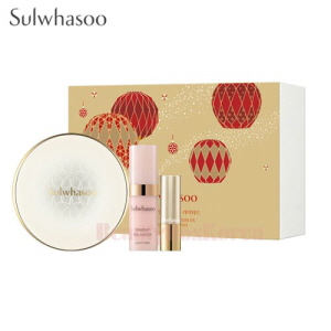 SULWHASOO Perfecting Cushion EX 3items [Holiday Limited]